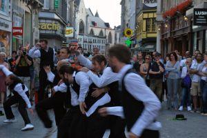 Brussel danst! 11 juli 2013. Foto: Arnaud Van Cutsem